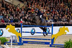 Vermeir Wilm, BEL, IQ vh Steentje<br /> Jumping Mechelen 2019<br /> © Hippo Foto - Dirk Caremans<br />  30/12/2019