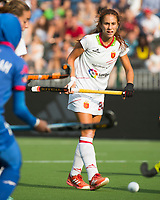 BRUXELLES (Belgium) -  Begona GARCIA (SPA)  during Hockey World League women (semi final competition)  SPAIN v MALAYSIA .    COPYRIGHT KOEN SUYK