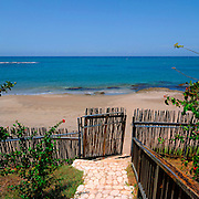 Path to beach - Jakes Hotel - Treasure Beach Jamaica