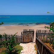 Path to beach - Jakes Hotel - Treasure Beach Jamaica