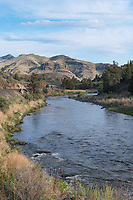 John Day River flowing through Sheep Rock Unit John Day Fossil Beds National Monument Oregon