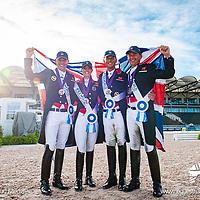 Thursday 13 September - Social Media Images -Team GBR - World Equestrian Games 2018 - Tryon, NC