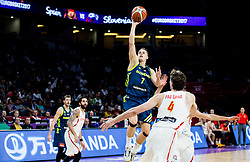 Klemen Prepelic of Slovenia during basketball match between National Teams of Slovenia and Spain at Day 15 in Semifinal of the FIBA EuroBasket 2017 at Sinan Erdem Dome in Istanbul, Turkey on September 14, 2017. Photo by Vid Ponikvar / Sportida