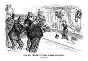 The Suffragette that Knew Jiu-Jitsu. The Arrest.