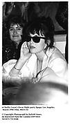 at Swifty Lazar's Oscar Night party. Spago. Los Angeles. March 1990.<br /><br />© Copyright Photograph by Dafydd Jones<br />66 Stockwell Park Rd. London SW9 0DA<br />Tel 0171 733 0108<br />Film. 90231/14