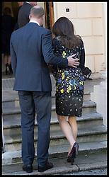January 17, 2017 - London, United Kingdom - Image licensed to i-Images Picture Agency. 17/01/2017. London, United Kingdom. The Duke and Duchess of Cambridge arriving at a briefing in London to outline the next phase of the charity Heads Together.  Picture by Stephen Lock / i-Images (Credit Image: © Stephen Lock/i-Images via ZUMA Press)