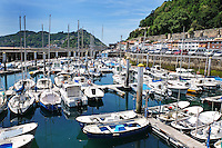 Harbour, San Sebastian, Donostia, Spain, May, 2015, 201505101035<br />