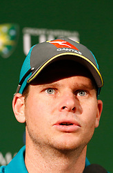 Australia's Steve Smith during a press conference at the WACA Ground, Perth.