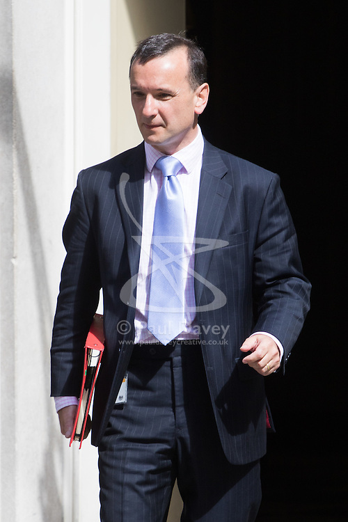 Welsh Secretary Alun Cairns leaves Prime Minister David Cameron's final cabinet meeting following Theresa May's anticipated takeover as Leader of the Conservative Party and Prime Minister on Wednesday 13th July 2016.