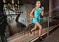 Viviens Model - ISKRA. Fashion Story about the growth in super-expensive sports gear, plus the influence it's having on street fashion in the run-up to Olympics. Pic By Craig Sillitoe CSZ / The Sunday Age<br /> 29/06/2012  Pic By Craig Sillitoe CSZ / The Sunday Age