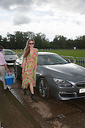 Bryony Daniels, The Veuve Clicquot Gold Cup Final.<br /> Cowdray Park Polo Club, Midhurst, , West Sussex. 15 July 2012.