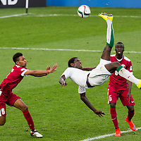 FIFA U-20 World Cup Football, Qatar v Senegal and Uruguay v Mali, Waikato Stadium, Saturday 6 June 2015.  Photo: Stephen Barker/Barker Photography. ©H3Group/HCC