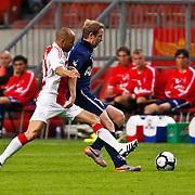 NLD/Amsterdam/20100731 - Wedstrijd om de JC schaal 2010 tussen Ajax - FC Twente, Demy de Zeeuw in duel met