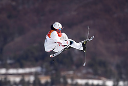 France's Antoine Adelisse in action during the qualification runs of the Men's Ski Slopestyle at the Bogwang Snow Park during day nine of the PyeongChang 2018 Winter Olympic Games in South Korea. PRESS ASSOCIATION Photo. Picture date: Sunday February 18, 2018. See PA story OLYMPICS Slopestyle. Photo credit should read: Mike Egerton/PA Wire. RESTRICTIONS: Editorial use only. No commercial use.