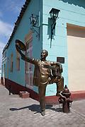 Brass sculpture, Santiago de Cuba