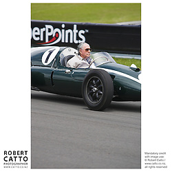 Sir Jack Brabham at the A1 Grand Prix of New Zealand at the Taupo Motorsport Park, Taupo, New Zealand.