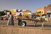 Man selling produce,  Luxor, Egypt