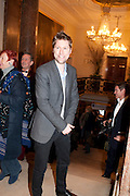 CHRISTOPHER BAILEY, Opening of David Hockney ' A Bigger Picture' Royal Academy. Piccadilly. London. 17 January 2012