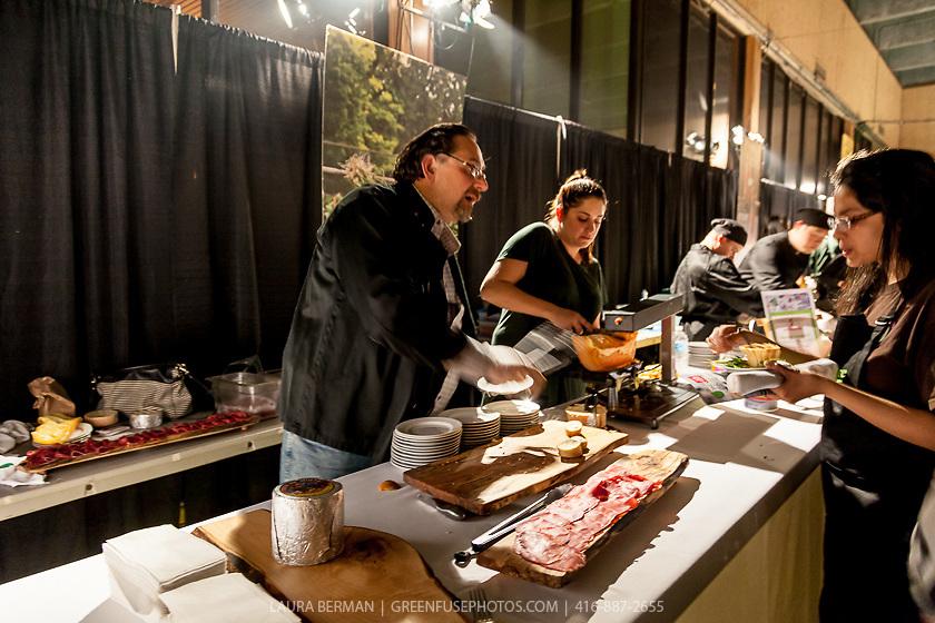 Odysseas Gounalakis of Scheffler's Deli at FoodShare Toronto's Recipe for Change, February 28,  2013