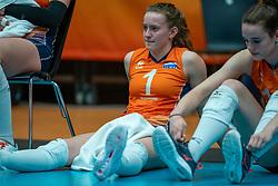 Kim Klein Lankhorst of Netherlands after semi final Netherlands - Serbia, FIVB U20 Women's World Championship on July 17, 2021 in Rotterdam