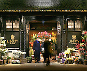 london department store flowers liberty