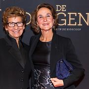 NLD/Amsterdam/20181023 -  Film premiere De Dirigent, Janine van den Ende en vriendin