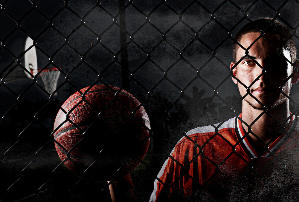 Parker Ayers, the Naples Daily News 2008-2009 Boys Basketball Player of the Year.