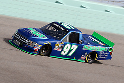 November 16, 2018 - Homestead, FL, U.S. - HOMESTEAD, FL - NOVEMBER 16: Jessie Little, driver of the .397 Skuttle Tight Ford, during practice for the NASCAR Camping World Series playoff race, the Ford EcoBoost 200 on November, 16, 2018, at Homestead - Miami Speedway in Homestead, FL. (Photo by Malcolm Hope/Icon Sportswire) (Credit Image: © Malcolm Hope/Icon SMI via ZUMA Press)