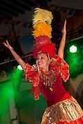Dancing, Old Town, Plaza Machado, Mazatlan, Sinaloa, Mexico