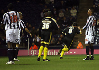 Photo: Rich Eaton.<br /> <br /> West Bromwich Albion v Cardiff City. Carling Cup. 25/09/2007. Cardiff's Robbie Fowler #8 turns away after scoring the opening goal of the game.