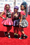 June 30, 2012-Los Angeles, CA : Recording Artists OMG Girlz attends the 2012 BET Awards held at the Shrine Auditorium on July 1, 2012 in Los Angeles. The BET Awards were established in 2001 by the Black Entertainment Television network to celebrate African Americans and other minorities in music, acting, sports, and other fields of entertainment over the past year. The awards are presented annually, and they are broadcast live on BET. (Photo by Terrence Jennings)