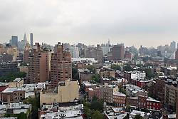 New York City and the village facing midtown