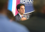 © Licensed to London News Pictures. 27/11/2012. Stevenage, UK ED MILIBAND. Ed Miliband MP, Leader of the Labour Party and Ed Balls MP, Labours Shadow Chancellor hold a joint question and answer session at Propak Sheet Metal LTD in Stevenage, today 27th November 2012, ahead of the Autumn Statement. Photo credit : Stephen Simpson/LNP