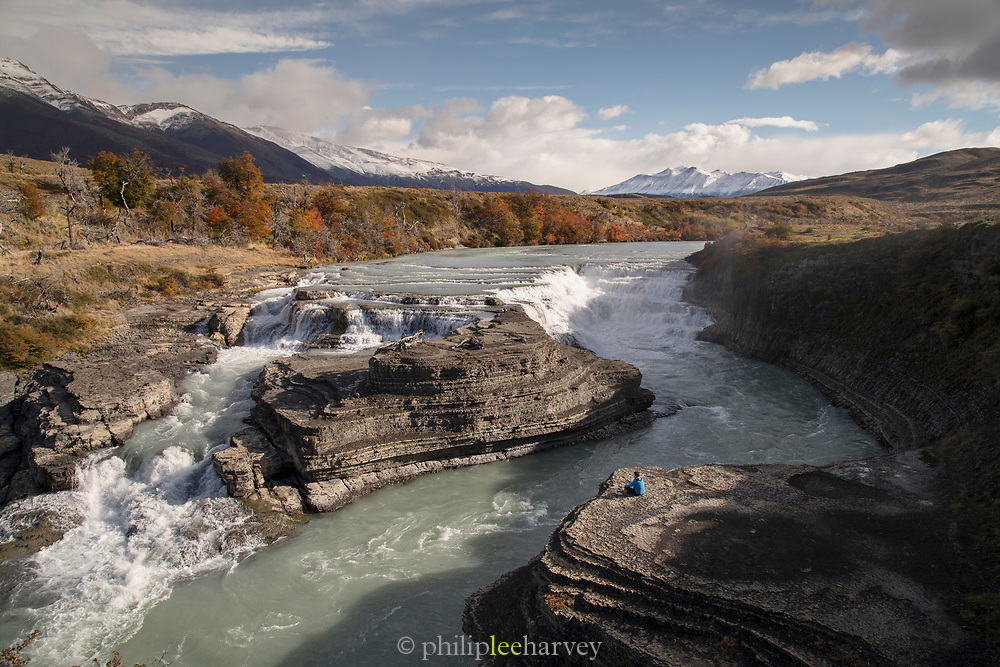 River in Torres del Paine National Park, Chile