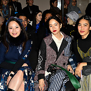 Celebrities attend Indonesian Fashion Showcase - Jera at Fashion Scout London Fashion Week AW19 on 16 Feb 2019, at Freemasons' Hall, London, UK.