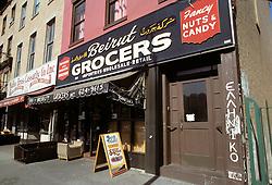 Beirut Grocers, Brooklyn, New York City, February 25, 1976