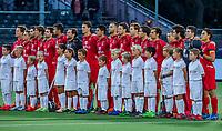 ANTWERP - BELFIUS EUROHOCKEY Championship  . Belgium v Spain (men) (5-0). line up team Belgium.  WSP/ KOEN SUYK