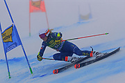 SOELDEN, AUSTRIA. OCTOBER 17 2020:  1st Women's Giant Slalom as part of the Alpine Ski World Cup in Solden on October 17, 2020; Run 1,  ( Pierre Teyssot/ESPA Images-Image of Sport)