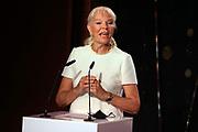 Birgit Steinegger. Verleihung der Swiss Comedy Awards am 20. September 2020 im Bernhard Theater Zürich.