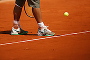 Roland Garros. Paris, France. May 30th 2008..Rafael NADAL against Jarkko NIEMINEN. .3rd Round...