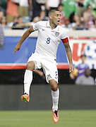 JACKSONVILLE, FL - JUNE 07:  Forward Clint Dempsey #8 of the United States awaits a pass during the international friendly match against Nigeria at EverBank Field on June 7, 2014 in Jacksonville, Florida.  (Photo by Mike Zarrilli/Getty Images)