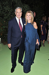 NICOLE HAMBRO and  at a dinner hosted by Cartier in celebration of the Chelsea Flower Show held at Battersea Power Station, 188 Kirtling Street, London SW8 on 23rd May 2011.