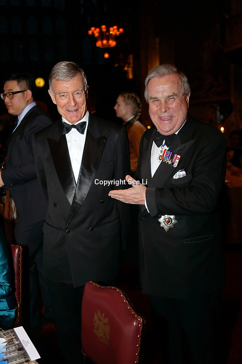 London,England,UK. 31th March 2017: Lord David Brewer attends the Athene Festival 2017 at Guildhall,London,UK. by See Li