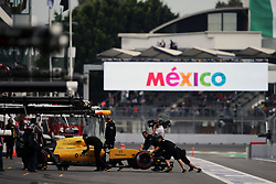 Jolyon Palmer (GBR) Renault Sport F1 Team RS16.<br /> 28.10.2016. Formula 1 World Championship, Rd 19, Mexican Grand Prix, Mexico City, Mexico, Practice Day.<br /> Copyright: Moy / XPB Images / action press