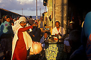 The Mercato. Addis Ababa,  Ethiopia. The market is the largest open air market in Africa covering sveral square miles and employing an estimated 13,000 people.