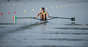 Plovdiv BULGARIA. 2017 FISA. Rowing World U23 Championships. <br /> MEX BLM1X. LOPEZ GARCIA, Alexis<br /> Wednesday. PM,  Heats 17:45:11  Wednesday  19.07.17   <br /> <br /> [Mandatory Credit. Peter SPURRIER/Intersport Images].
