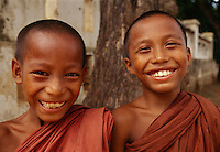 """Young novices, Myanmar<br /> Available as Fine Art Print in the following sizes:<br /> 08""""x12""""US$   100.00<br /> 10""""x15""""US$ 150.00<br /> 12""""x18""""US$ 200.00<br /> 16""""x24""""US$ 300.00<br /> 20""""x30""""US$ 500.00"""