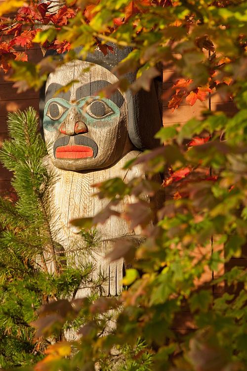 Totem at Centennial Hall, Juneau, Alaska