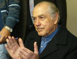 Leonel de Moura Brizola durante reunião com as autoridades do PDT, em Porto Alegre, RS. FOTO: Jefferson Bernardes/Preview.com