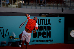 May 5, 2019 - Madrid, Spain - Marius Copil (ROU) in his match against Taylor Fritz (USA) during day two of the Mutua Madrid Open at La Caja Magica in Madrid on 5th May, 2019. (Credit Image: © Juan Carlos Lucas/NurPhoto via ZUMA Press)